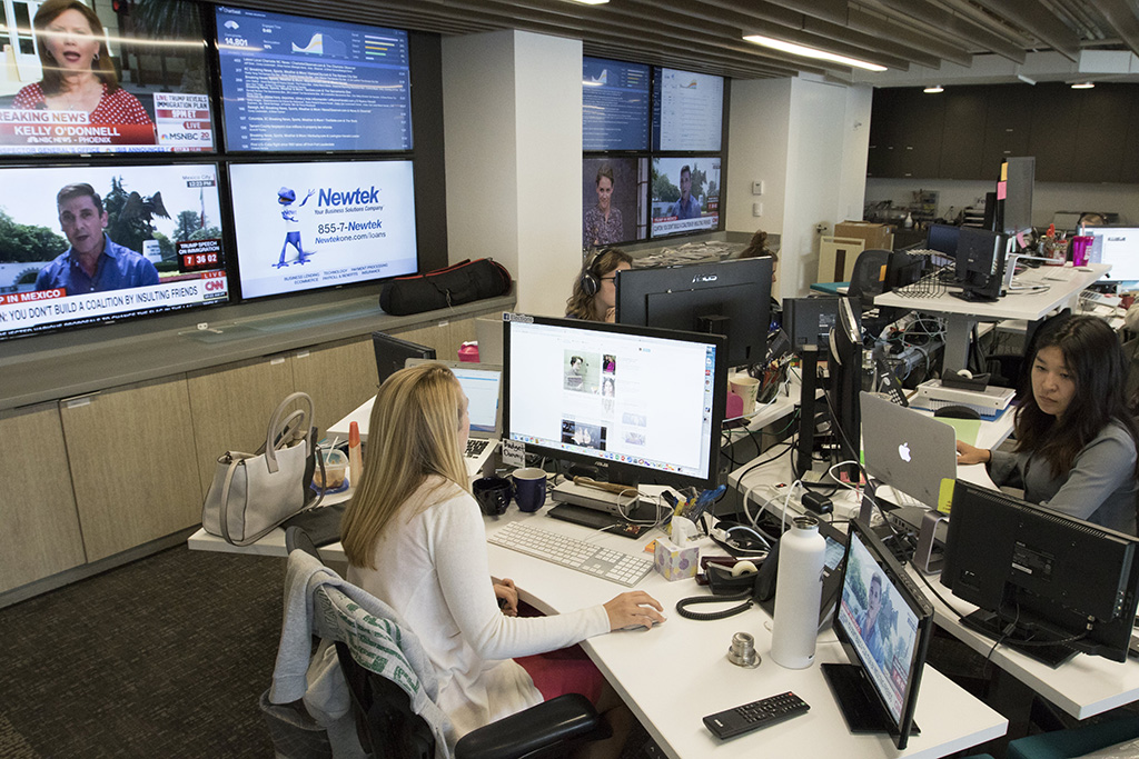 McClatchy's real time desk reporters and social media experts monitor and deliver real-time news and insights on trending political and policy topics.